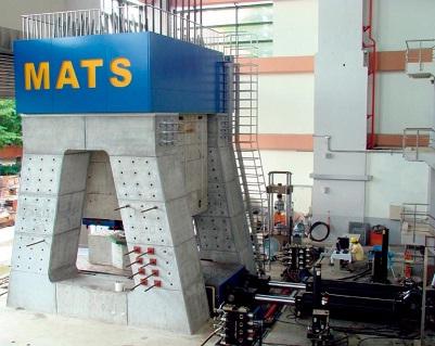 國震中心多軸向試驗系統(Multi-Axial Testing System, MATS)啟用