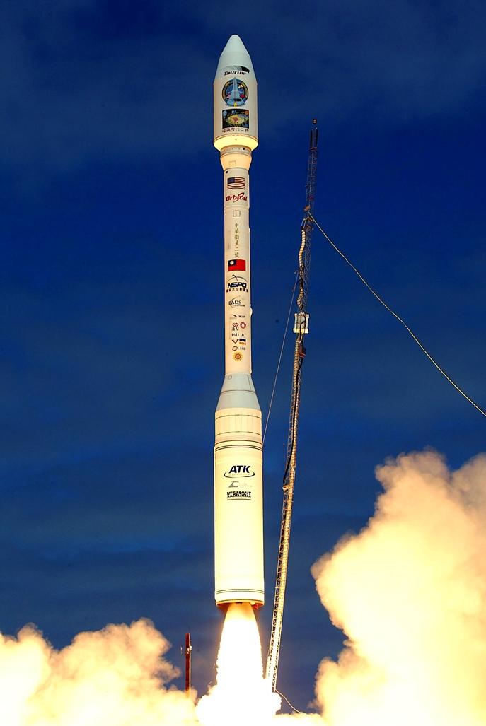 福爾摩沙衛星二號於美國加州范登堡發射場飛試成功