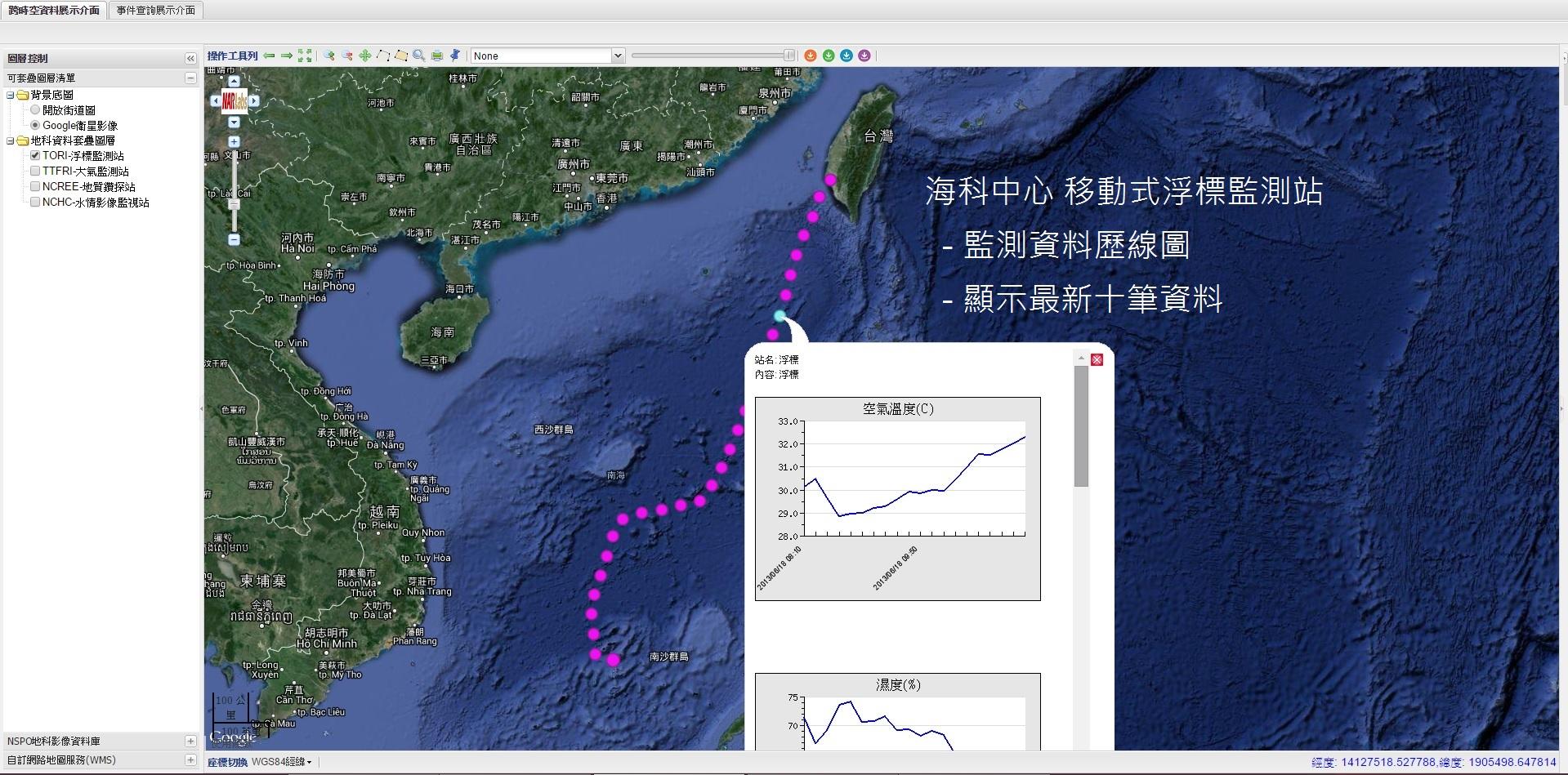 【demo4】海科浮標資料展示