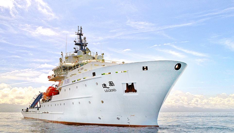 「勵進」研究船啟用—航向國境之南 擴展藍色國土