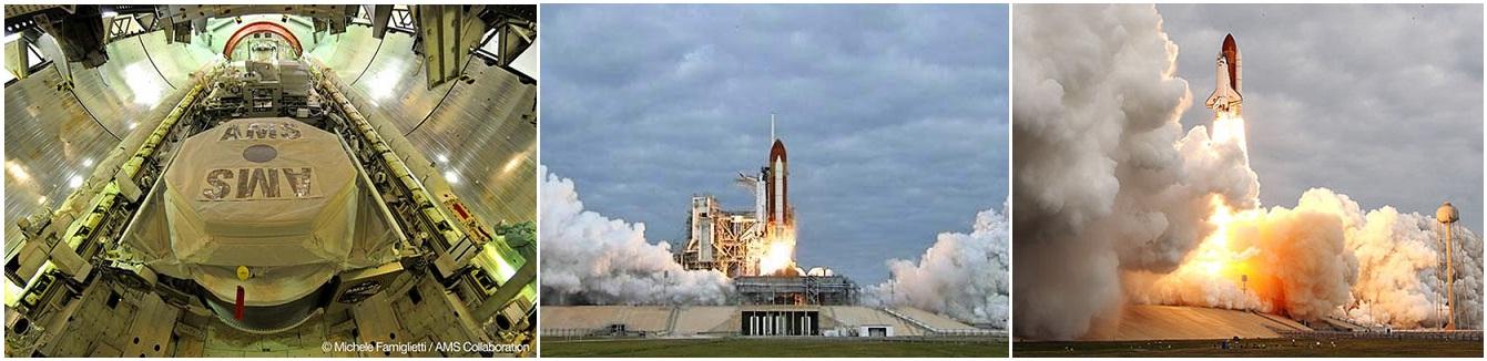 (上圖) 太空梭奮進號發射升空(圖片來源: www.nasa.gov)