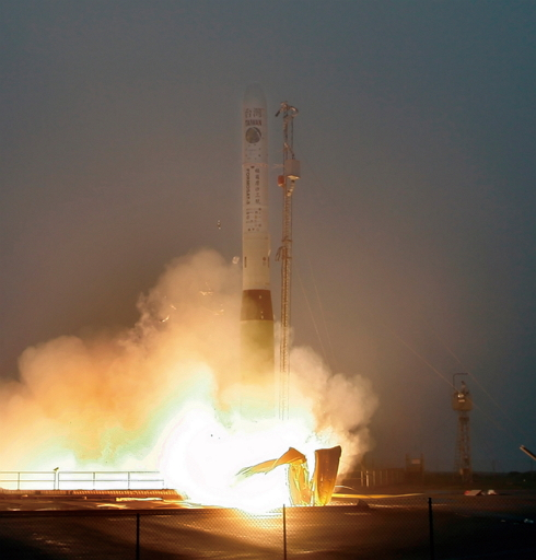 ORMOSAT-3 is successfully launched from Vandenberg launch site, U.S.A.