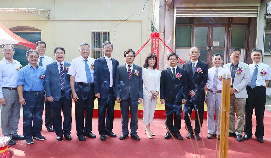 國研院「奈米晶片中心台南基地」動土典禮後貴賓合影
