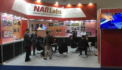 國研院於泰國國家科學院的年度展覽設攤,展示科研成果及各領域應用實例。