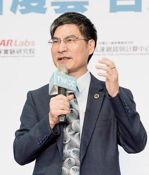 科技部陳良基部長開場致詞及表揚AI國家隊(A team)。