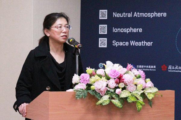FORMOSAT-7 Program Director Vicky Chu of the National Space Organization (NSPO)