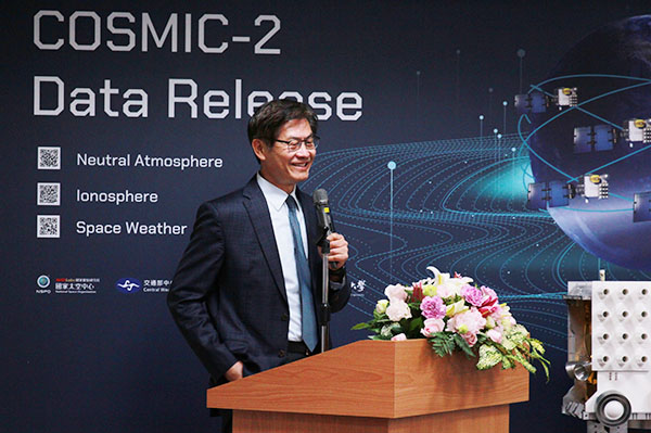 Deputy Minister Yu-Chin Hsu of the Ministry of Science and Technology (MOST)