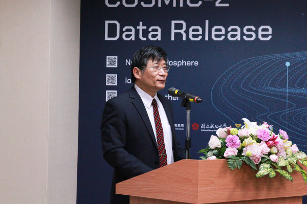 Deputy Director Mark Cheng of the Central Weather Bureau (CWB)