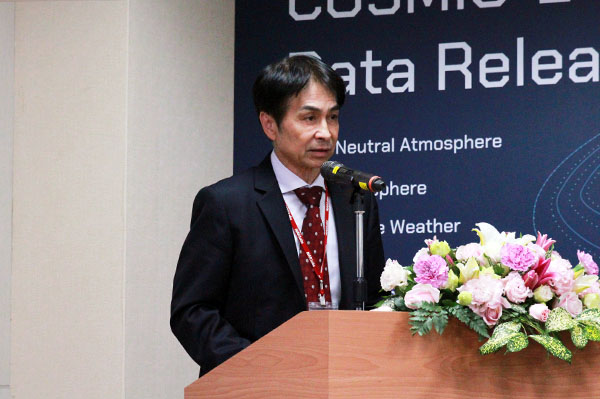 Director General Chun-Liang Lin of the National Space Organization (NSPO)