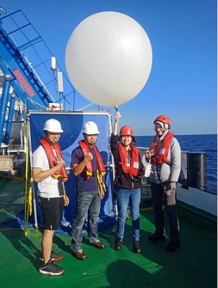 「勵進」研究船科學首航