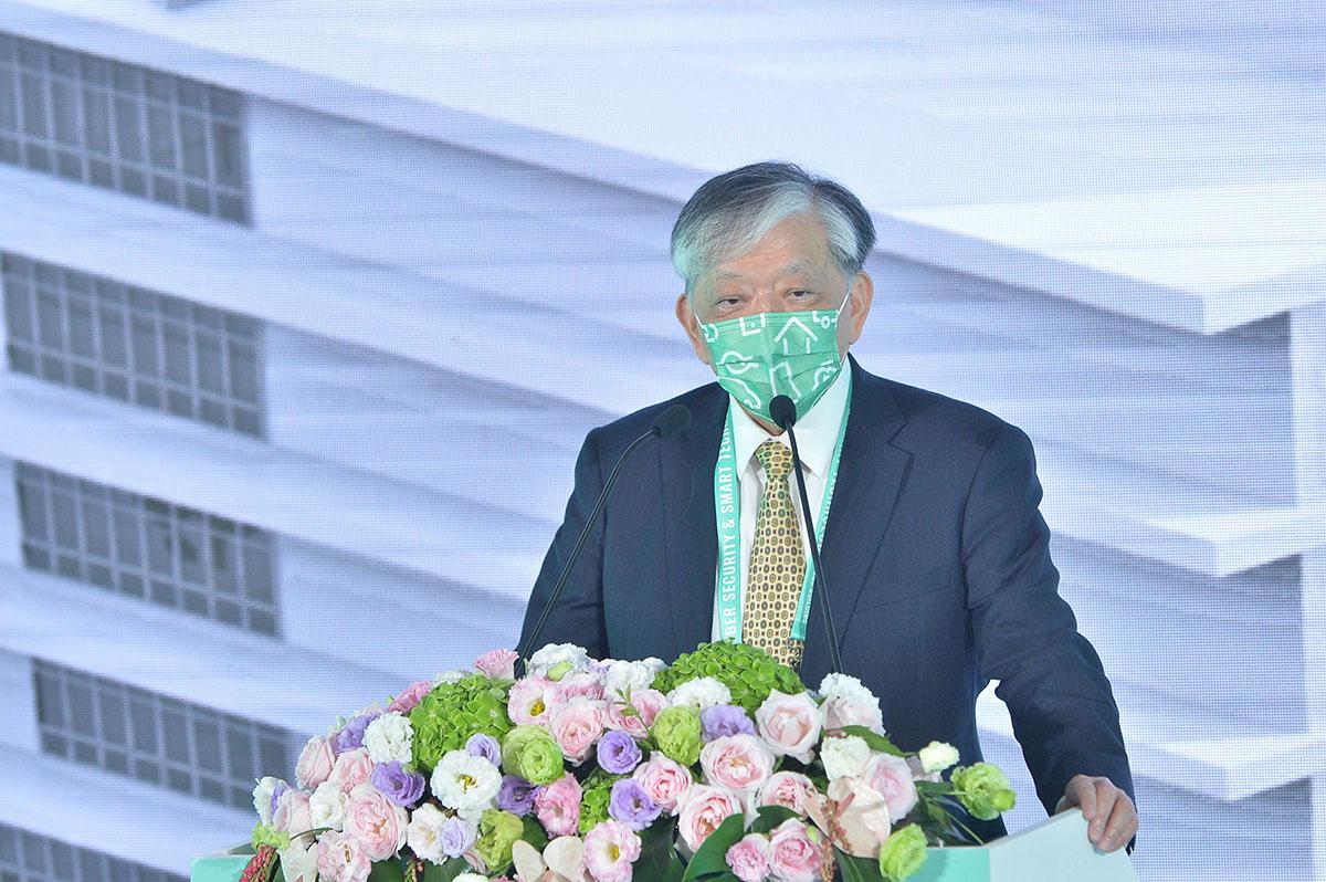 台灣數位科技與政策協進會理事長高志明致詞