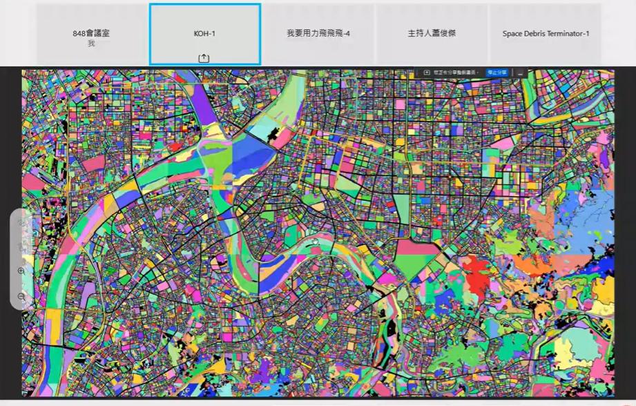 第一名隊伍KOH參賽主題融入都市計畫,以影像加值再應用為核心