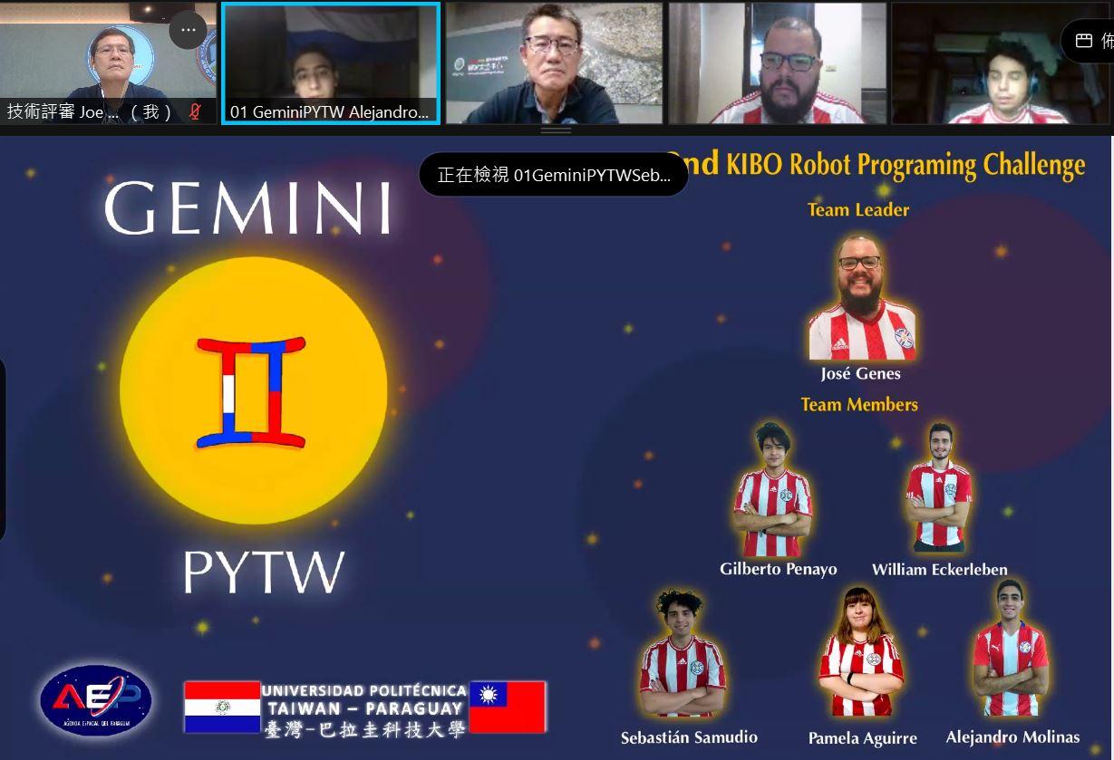 Paraguayan International Student Team GeminiPYTW  Wins Taiwan Preliminary Round Championship