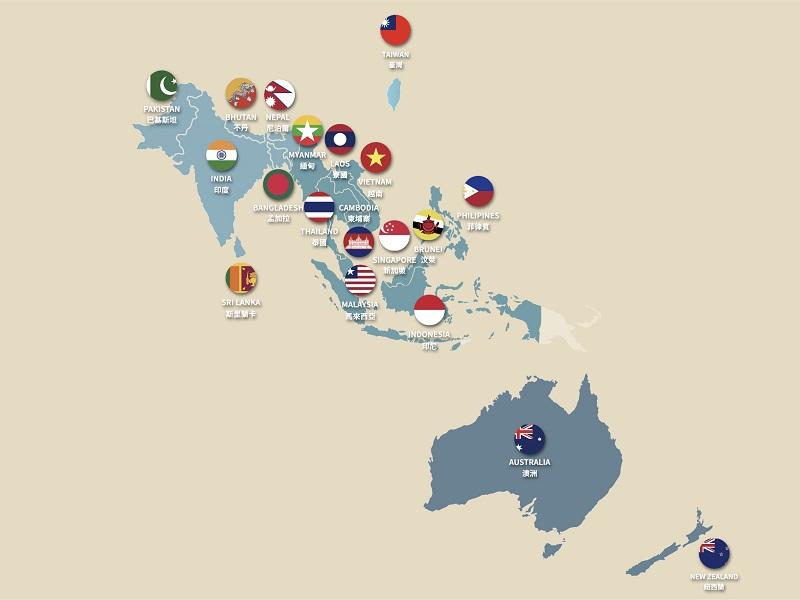 新南向科研地圖